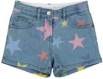Stella McCartney Kids Star-print denim shorts