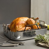 All-Clad Stainless Steel Large Rotisserie Combo