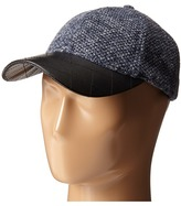 San Diego Hat Company CTH4115 Nubby Tweed Ball Cap with Quilted PU Bill