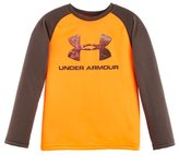 Under Armour Boys' Toddler UA Hunt Big Logo Raglan Long Sleeve