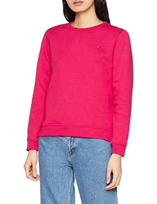 Tommy Hilfiger Women's Louisa C-nk Sweatshirt Ls Long Sleeve Top, Dusk Blue 471, Small