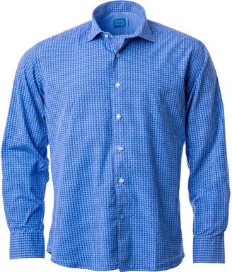 Panareha Meco Printed Shirt - Blue