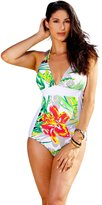 Ingear YBL Panel Halter One Piece Swimsuit