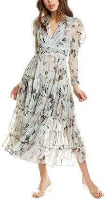 Beulah Gathered Maxi Dress