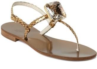 Emanuela Caruso Handmade Flat Flip Flops