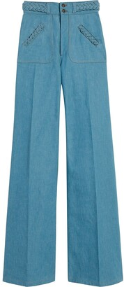 Marc Jacobs High-Rise Flared Jeans