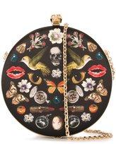 Alexander McQueen 'Skull' circle clutch