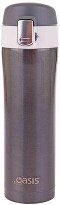 Oasis Stainless Steel Flip-Top Vacuum Flask 450ml -