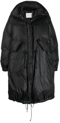 Sacai Asymmetrical Down Coat