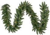 Vickerman 50-ft. Warm White Pre-Lit Camden Fir Artificial Christmas Garland