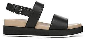 Via Spiga Women's Davi Leather Platform Walking Sandals