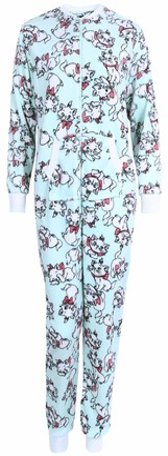 Disney  :  Aristocats Mint Green All in One Piece Pyjama Onesie for Ladies Marie The Aristocats Disney S