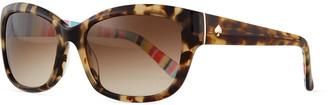 Kate Spade Johanna Gradient Butterfly Sunglasses, Havana