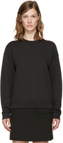 Alexander Wang Black French Terry Pullover