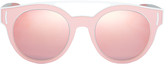Givenchy Pink Rubber Logo Sunglasses Pink 1SIZE