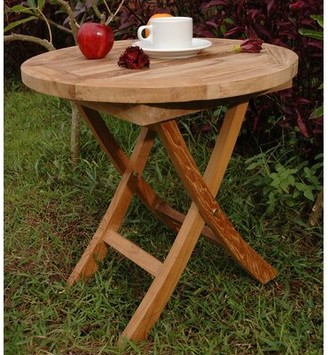 Rosecliff Heights Farnam Solid Wood Side Table