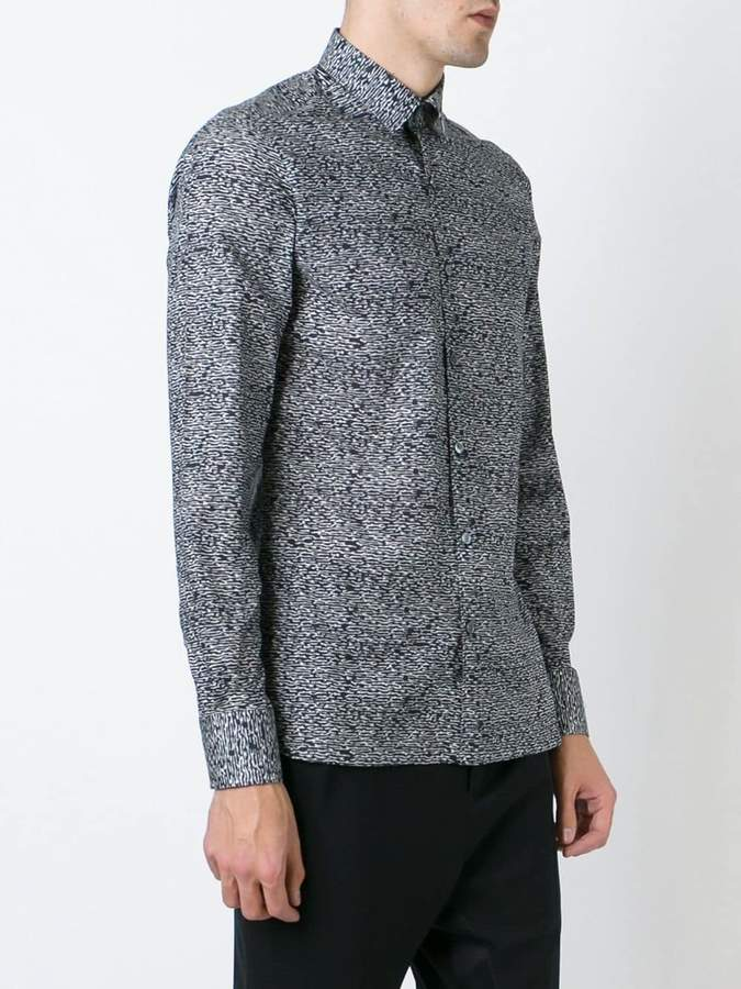 Lanvin abstract print shirt