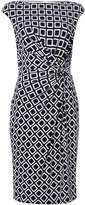 Lauren Ralph Lauren Printed Cap Sleeve Dress