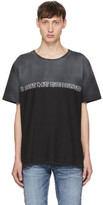 Saint Laurent Grey love Me Forever Or Never T-shirt