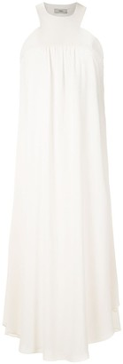 Egrey mid-lenght flared dress