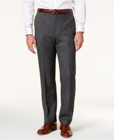 Lauren Ralph Lauren Flannel Flat Front Classic-Fit Dress Pants