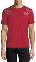 MCM Laurel-Embroidered T-Shirt