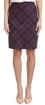 Trina Turk Tartan Plaid Pencil Skirt.