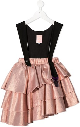Wauw Capow By Bangbang Fairytale Holliday pinafore dress
