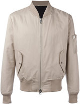 Ami Alexandre Mattiussi bomber jacket - men - Cotton/Linen/Flax/Polyamide/Spandex/Elastane - S