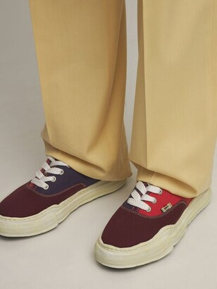 Miharayasuhiro Original Sole Overdye Canvas Low Sneaker
