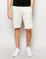 Sisley Five Pocket Shorts In Slim Fit