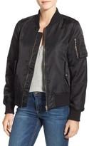 Steve Madden Women's Side Zip Bomber Jacket