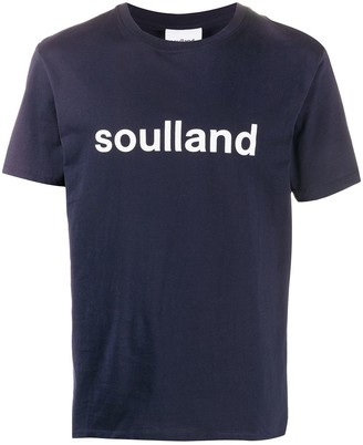 Soulland Chuck logo T-shirt