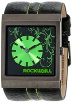 Rockwell Time Unisex MC109 Mercedes Black Leather and Green Watch