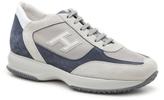 Hogan Final Sale Suede Retro Sneaker