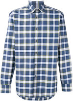 Brioni checked shirt - men - Cotton - L