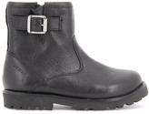 Pom D'Api Leather Zip-Up Buckle Roadster Boots