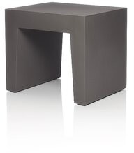 Fatboy Concrete Seat Plastic Accent Stool Color: Taupe