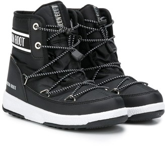 MOON BOOT KIDS Lace-Up Moon Boots