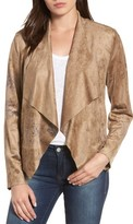 KUT from the Kloth Women's Tayanita Floral Faux Suede Jacket