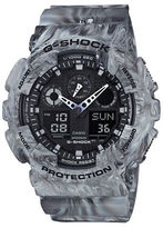G-Shock Stainless Steel and Resin Marbled Strap Watch