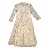Prada Silk Long Sleeve Dress