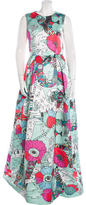 Mary Katrantzou Astere Print Evening Dress