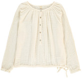 Numero 74 Naia Long Sleeve Blouse - Teen and Women's Collection Off white