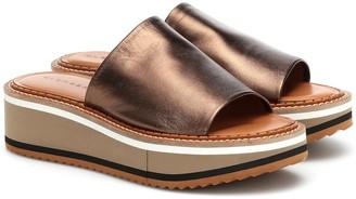 Clergerie Affect leather platform sandals