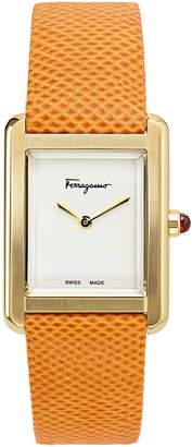 Salvatore Ferragamo Portrait Two-Tone Bracelet Watch, 31mm x 41mm