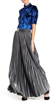 TOV Permanent Pleated Maxi Skirt