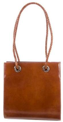 Cartier Glazed Leather Tote