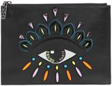 Kenzo Eye Patch Leather Pouch