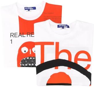 Junya Watanabe x Real Review printed T-shirt